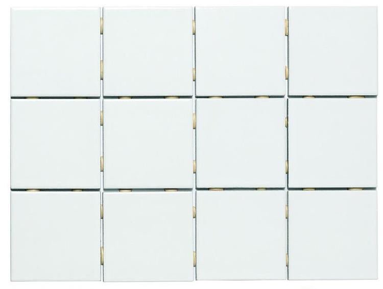 Azulejo blanco brillo 10x10 for Azulejos cocina blanco brillo
