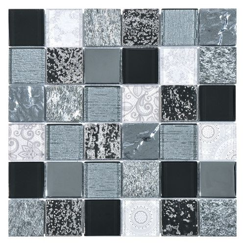 Malla Elements Black 30x30
